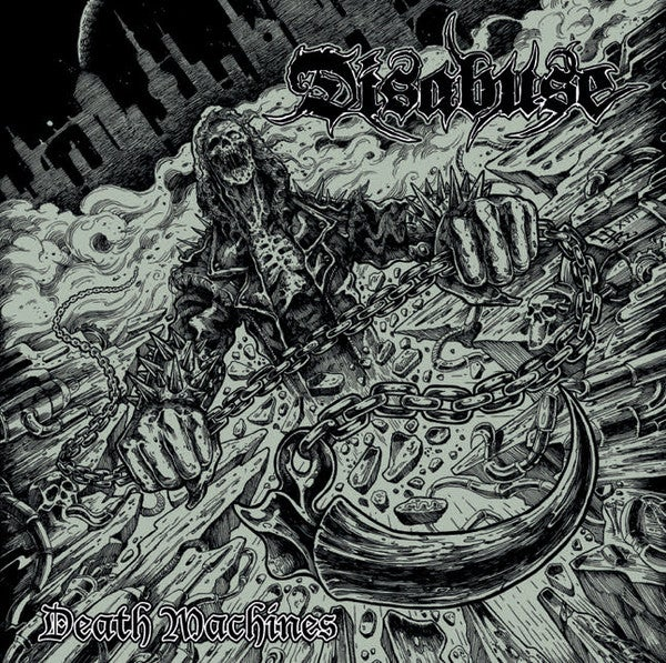 Image of Disabuse - Death Machines CD