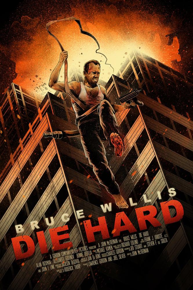 "Image of ""Yipee Ki Yay"" - inspired by Die Hard"