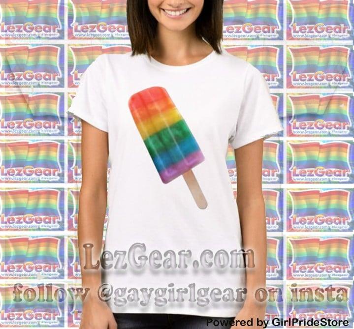 Image of Rainbow Popsicle Tee