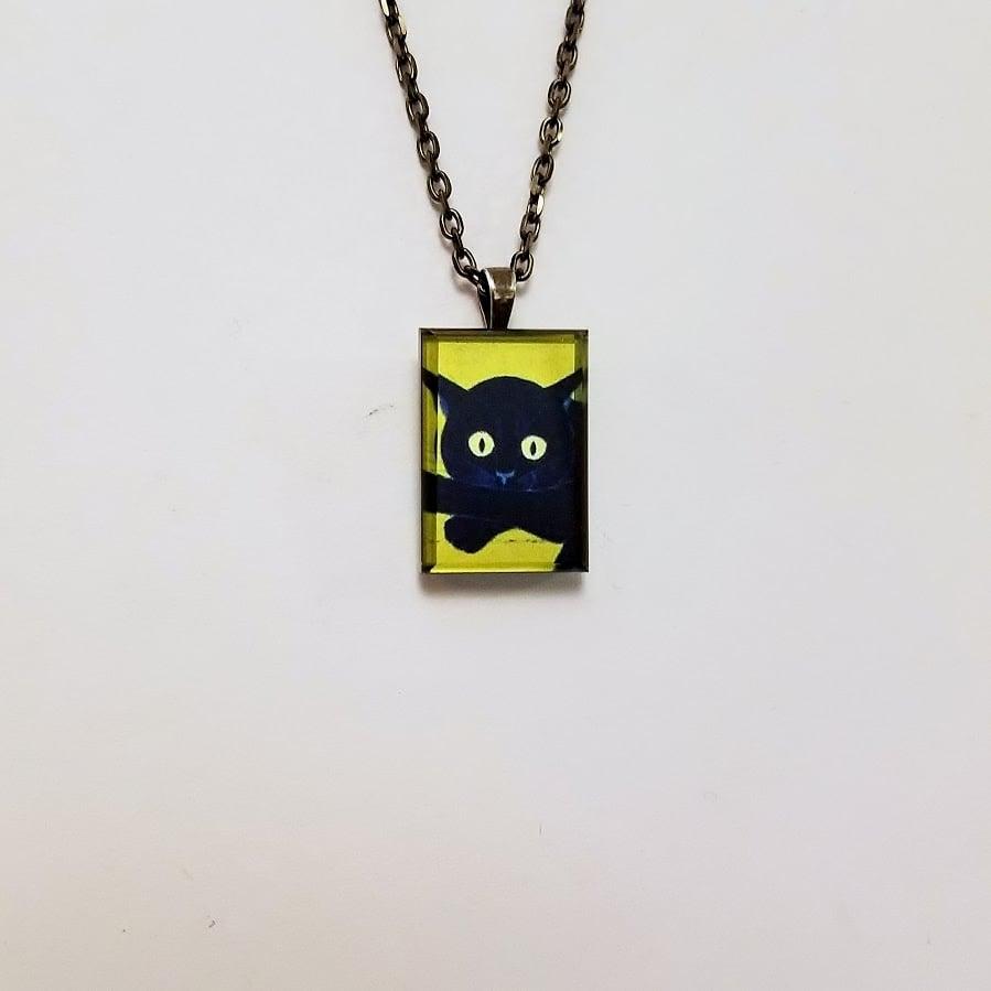 Image of Cat, Japanese Woodblock Print