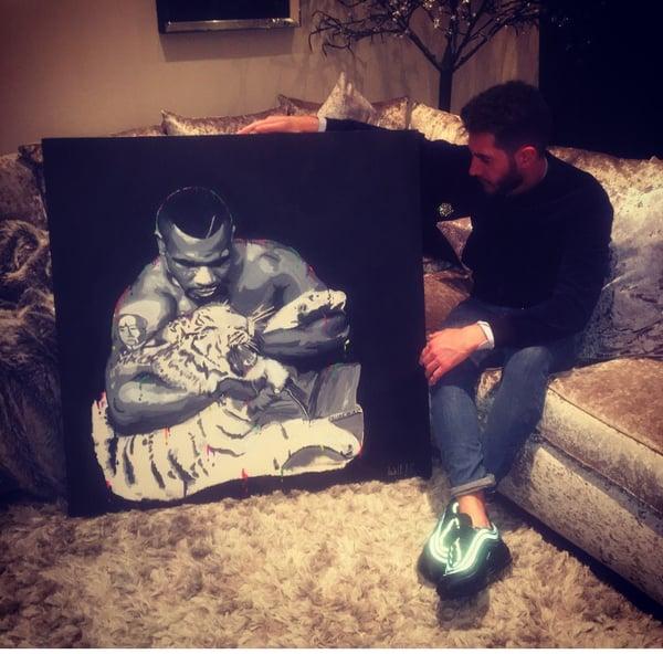 Image of Iron Mike Tyson
