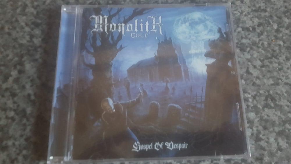 Image of Monolith Cult - Gospel Of Despair CD.