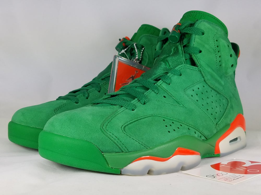 Image of Jordan 6 Retro Gatorade Green