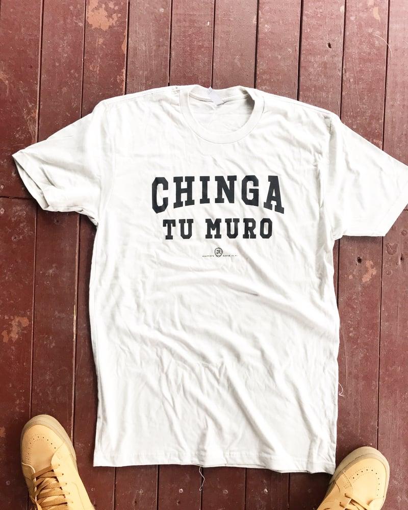 Image of CHINGA TU MURO - OFF WHITE