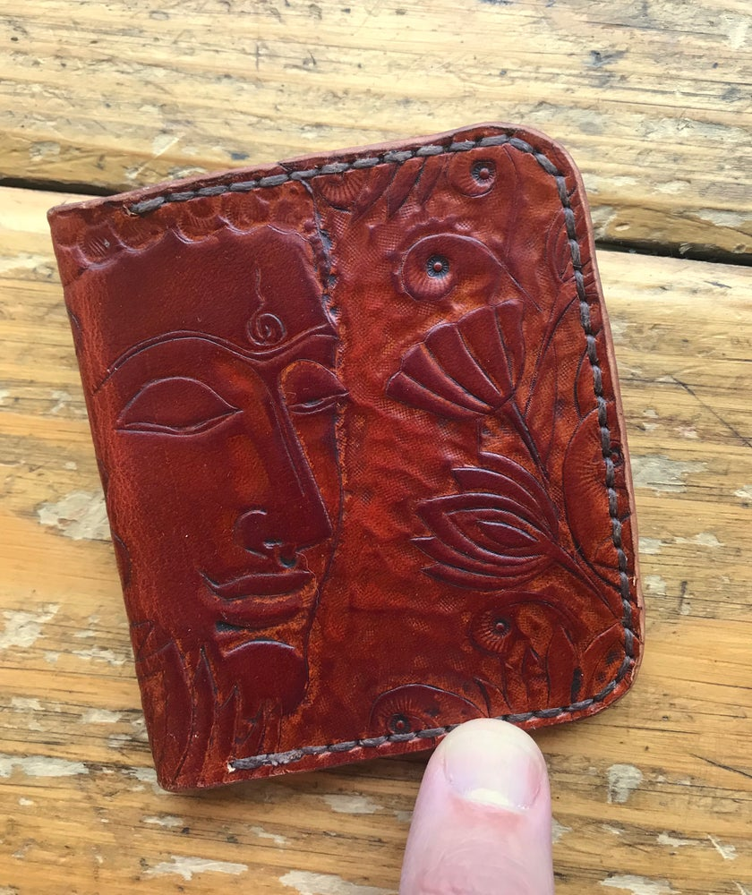 "Image of ""Buddha"" Four Slot Bi-Fold Wallet"