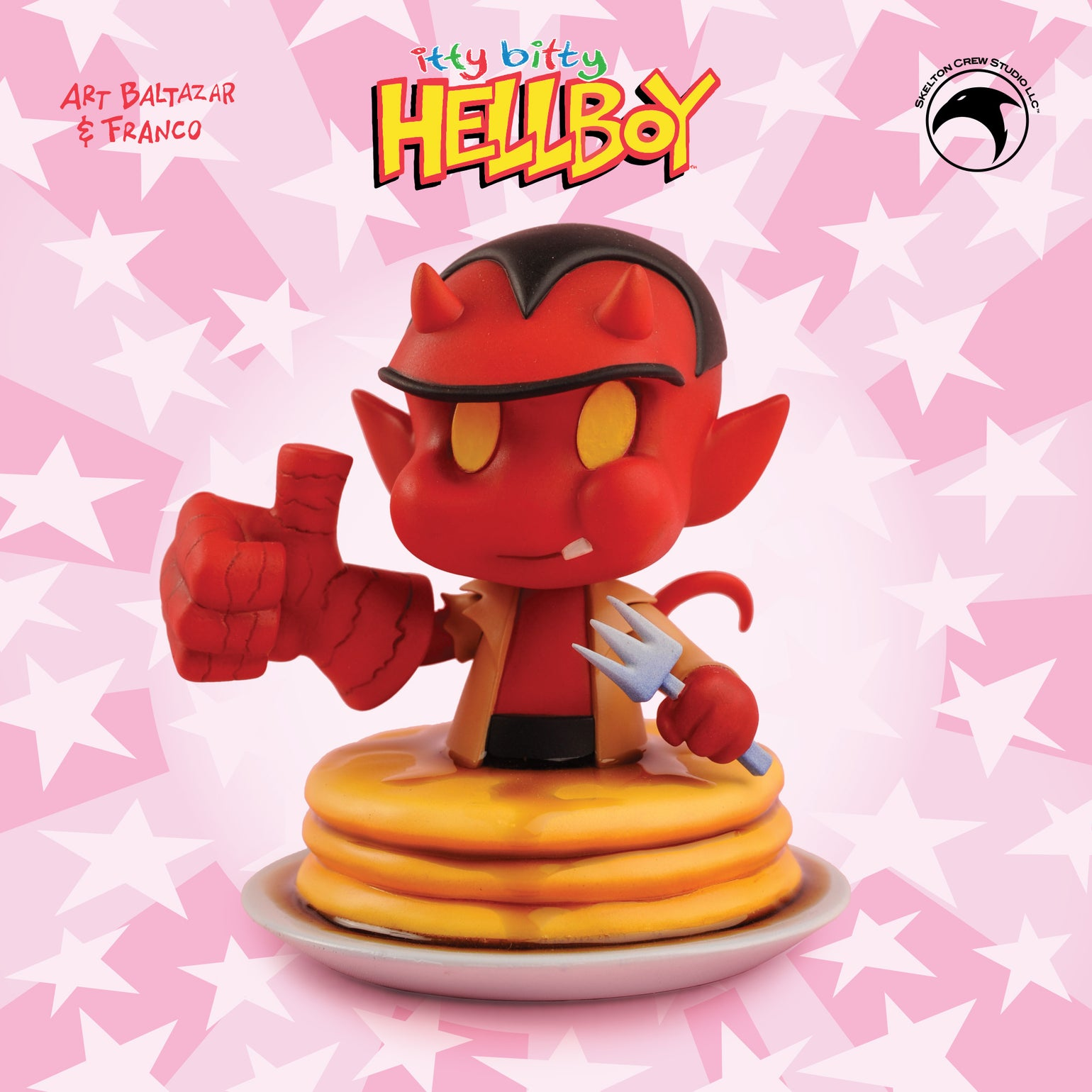 Image of Hellboy: Limited Edition itty bitty Hellboy statue! Less than 20 left!