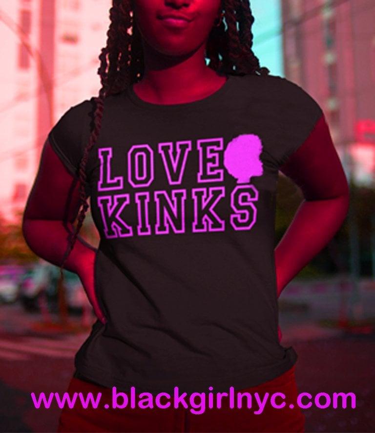 Image of LOVE KINKS / Black tee