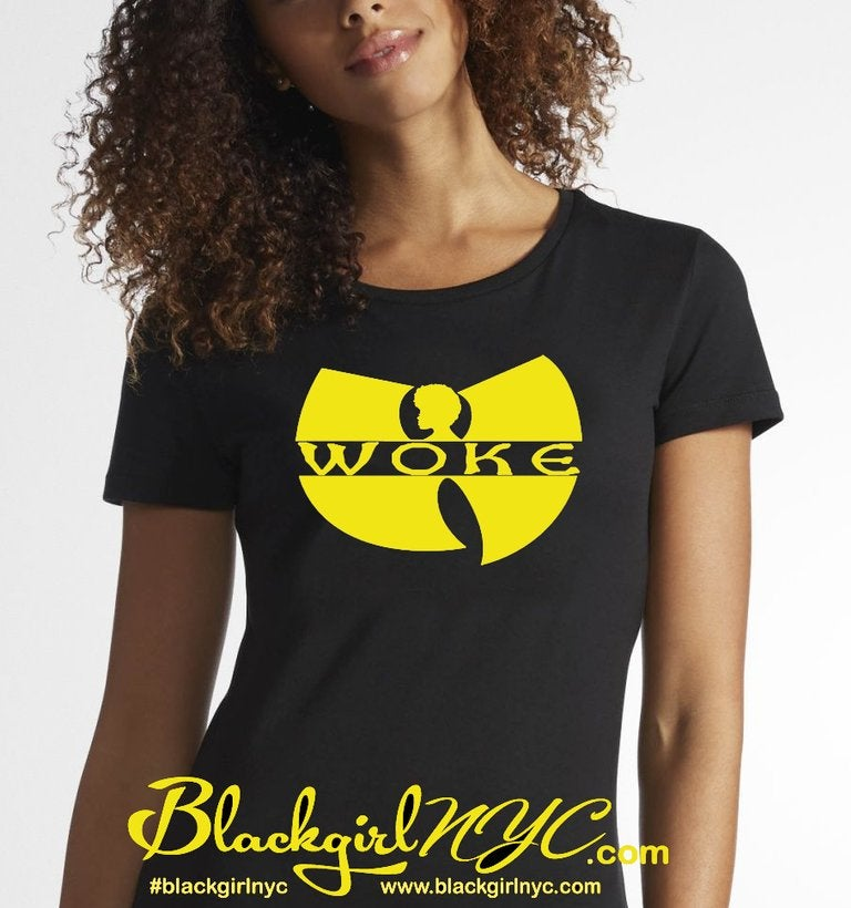 Image of stay WOKE / Black tee