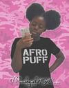 AFRO PUFF  / Black Tee