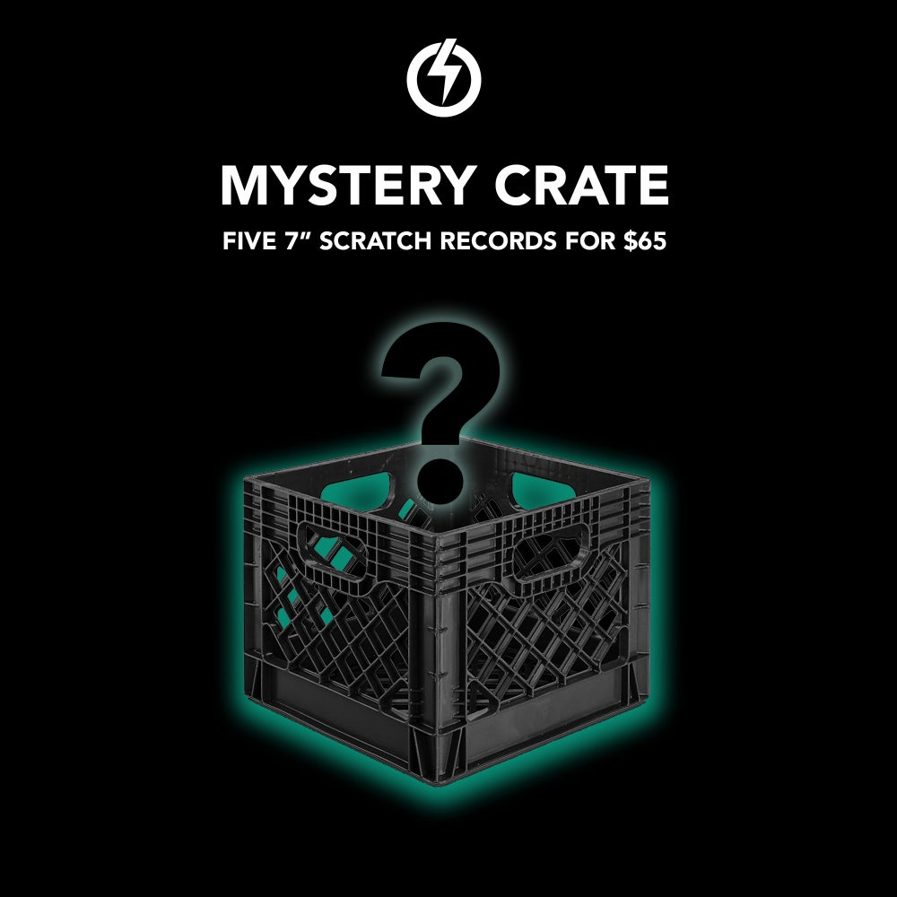 Image of MYSTERY CRATE - 5 Scratch Records