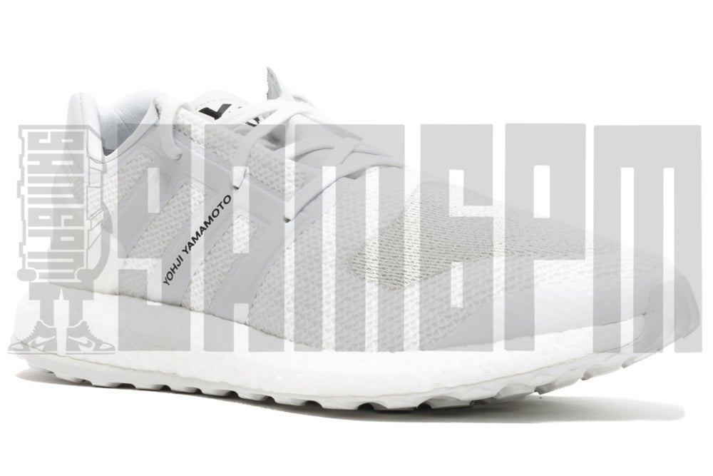 "Image of Adidas Y-3 PURE BOOST ""TRIPLE WHITE"""