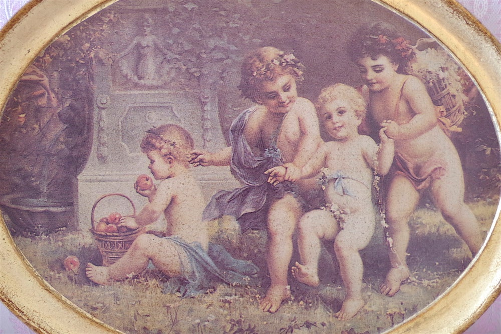 Image of Italian Putti Tray