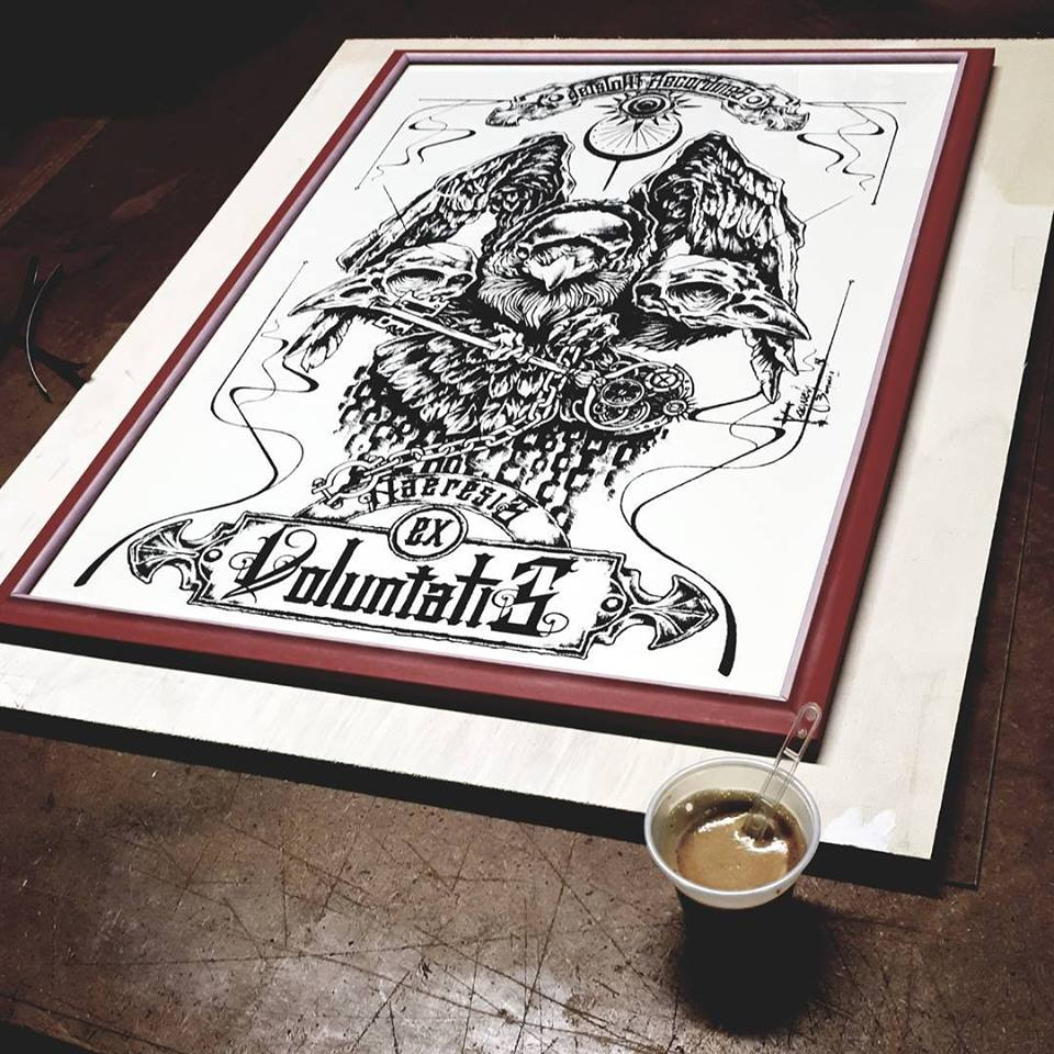"""Image of """"Haeresis Ex Voluntatis"""" - Raquel Burgueno Sepulveda"""
