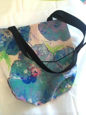 Image of Floral dirty pour tote - ONLY ONE LEFT!