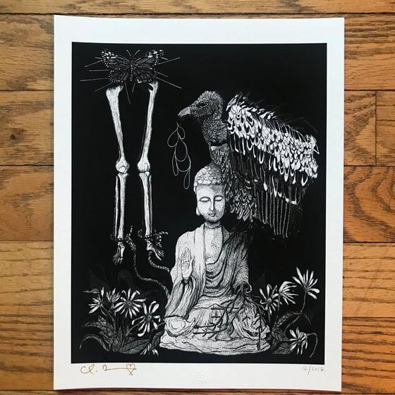 "Image of ""Enlightenment"" 8.5""x11"" Giclee Fine Art Print"