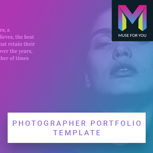 Image of Photographer Portfolio Template