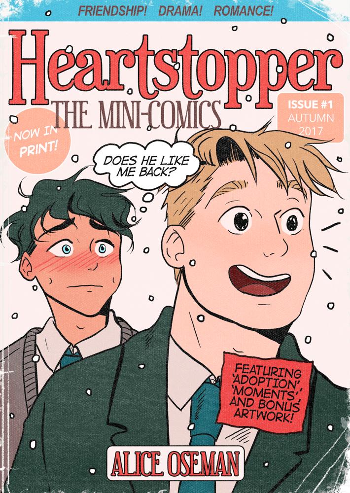 Image of [DIGITAL PDF] HEARTSTOPPER: The Mini-Comics Zine