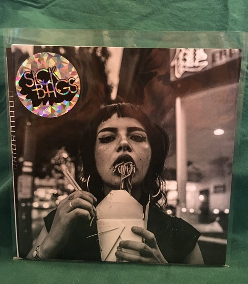 Image of Sick Bags Cigarette Spit 7""