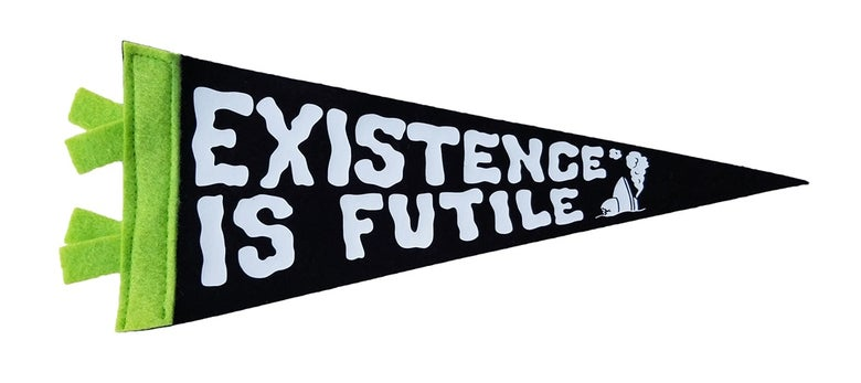 Image of Existence is Futile Home Team Mini Pennant