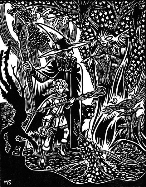 Image of The Wizard, The Apprentice, and the Woods Witch