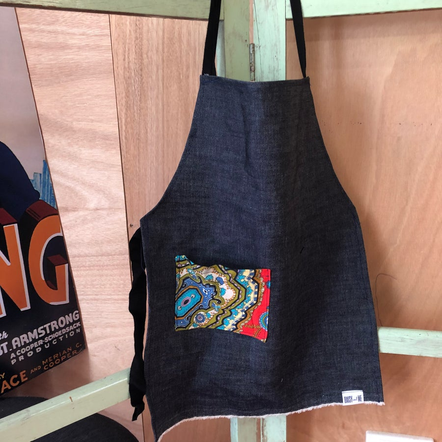 Image of Kids Apron - Retro Pocket