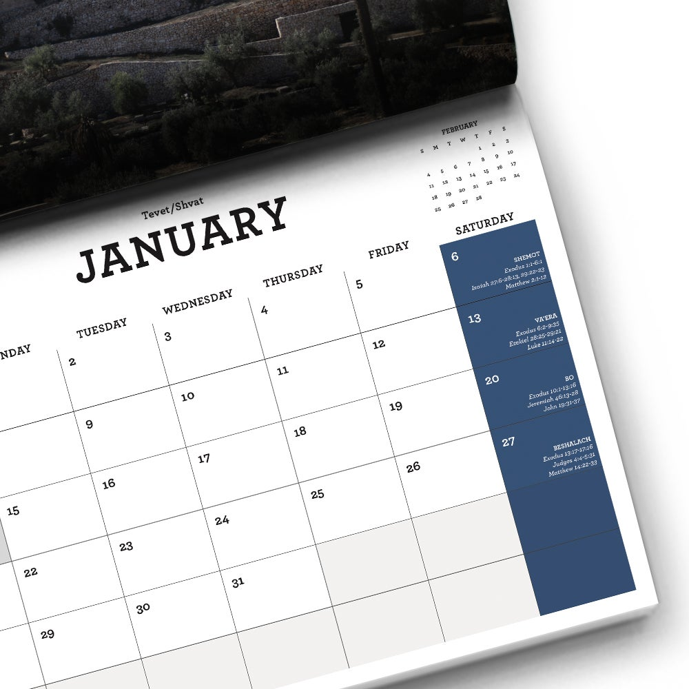 Image of Book of the Covenant 2018 Calendar