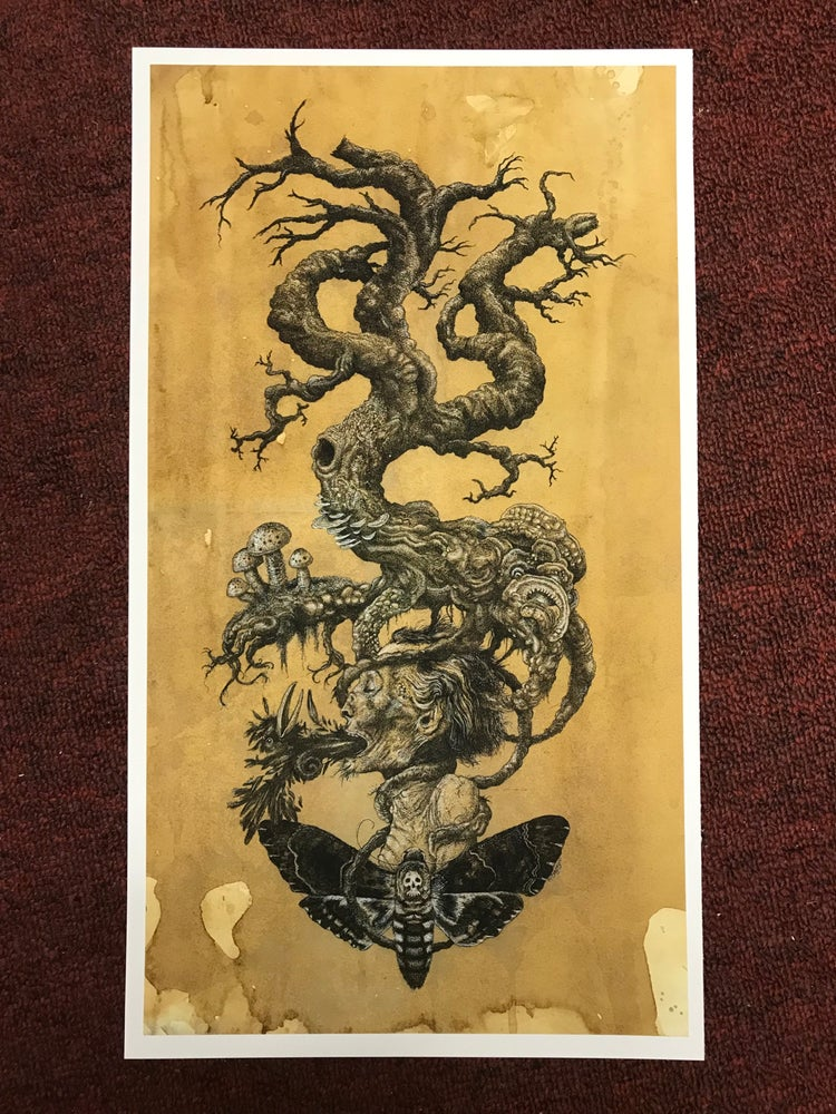 Image of Tree of death print.
