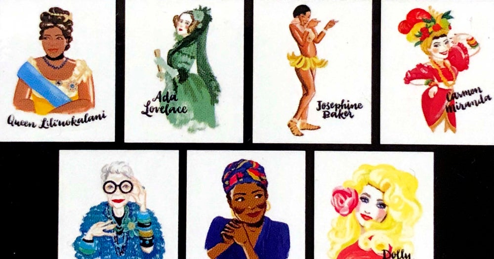 Image of Bad Girls Throughout History | Box of Note Cards