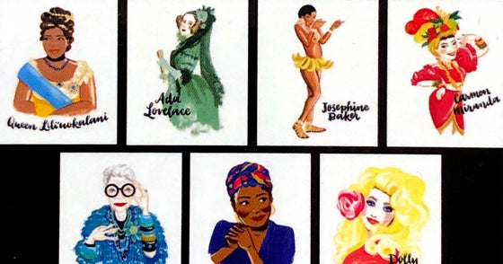 Image of Bad Girls Throughout History Cards
