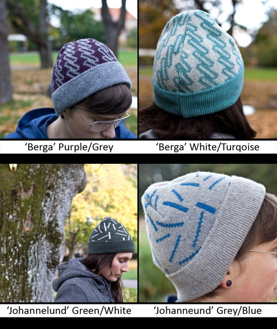 Image of Knitted cap 'Berga'