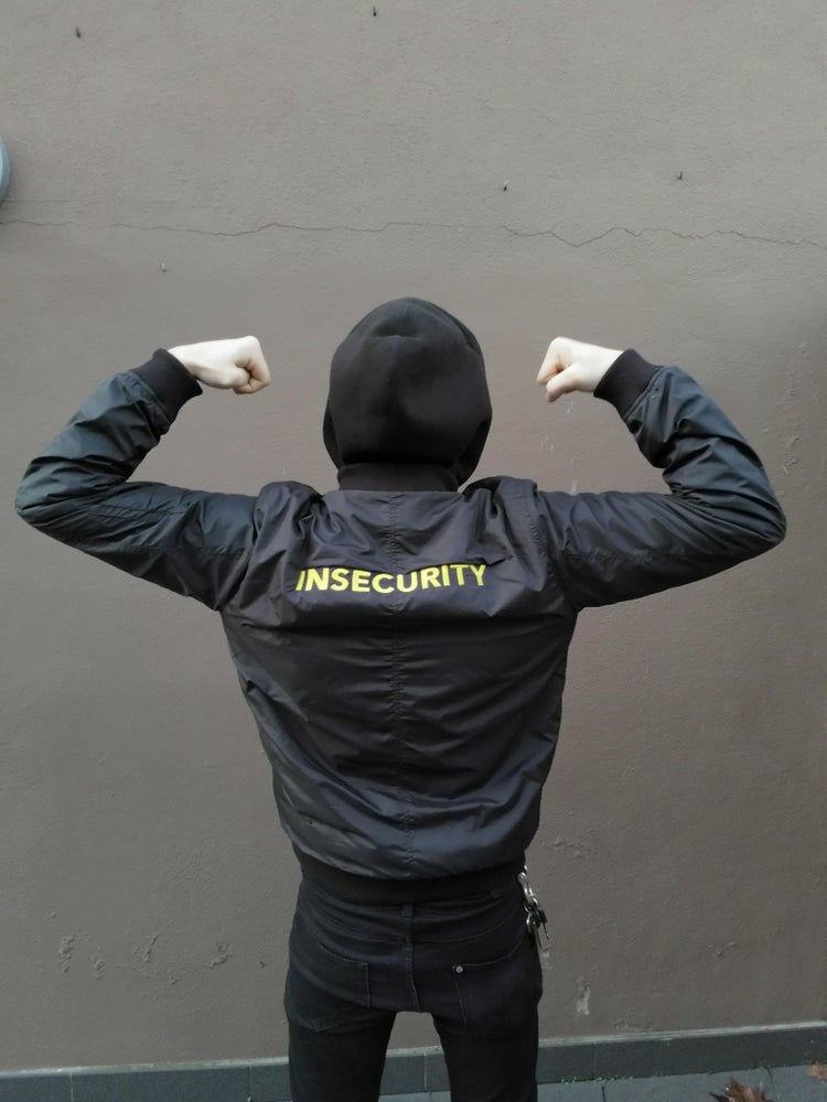 Image of Insecurity Bomber Jacket