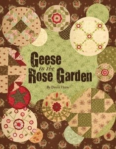 Geese in the Rose Garden
