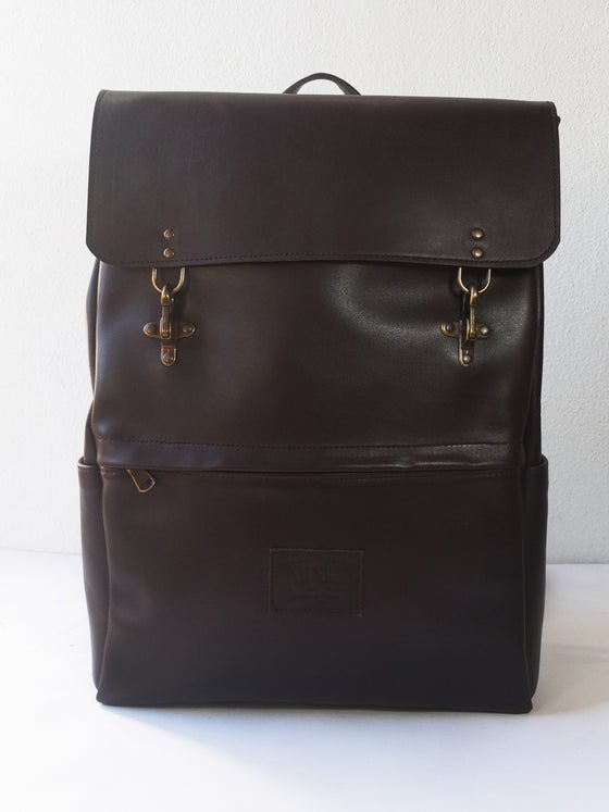 Image of BROWN BACKPACK