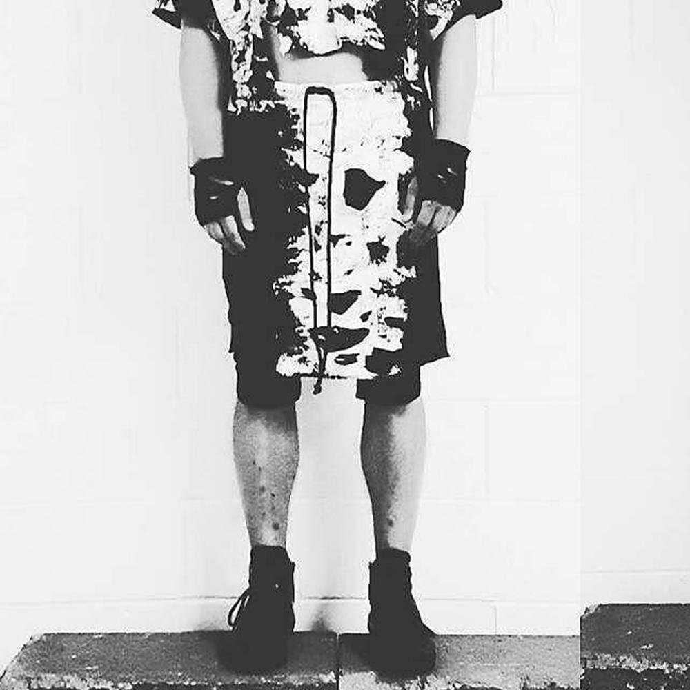 Image of Sinister by WES MiSENER Man Skirt Size (L)