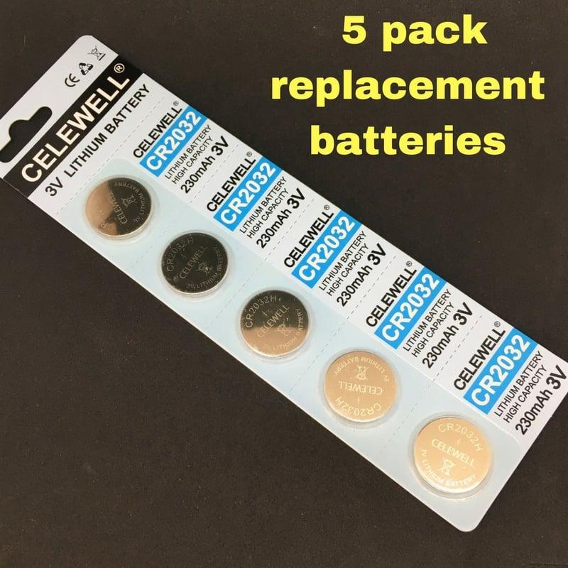 NEW! eTextile Kit Replacement Batteries