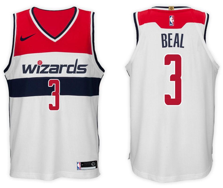 newest collection 3439e 27e6f Men's Bradley Beal Nike NBA Swingman Jersey Navy