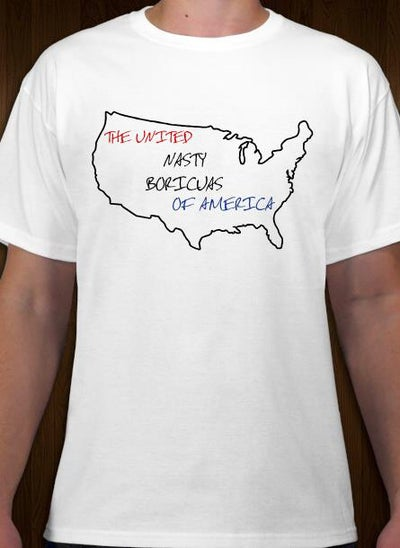 Image of Nasty Boricua tee