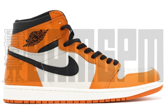 "Image of Nike AIR JORDAN 1 RETRO HIGH OG ""REVERSED SHATTERED BACKBOARD"""