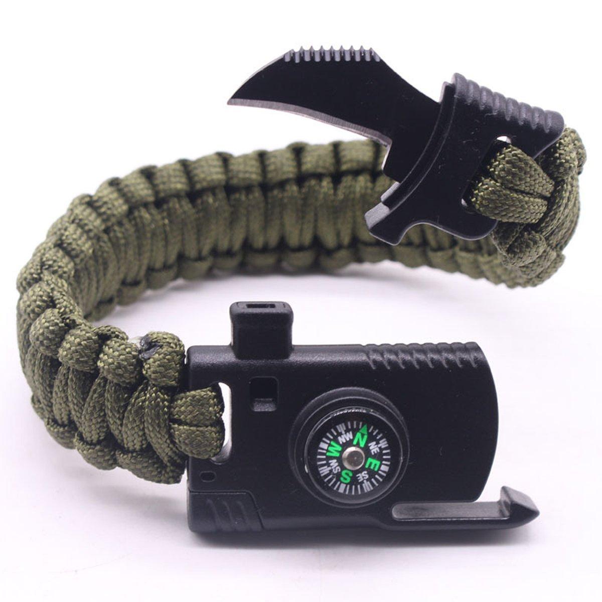 Image of Knife Multi Tool Survival Bracelet, 3 Sizes