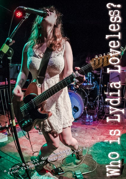 Image of Who is Lydia Loveless? DELUXE DVD (with free bumpersticker)