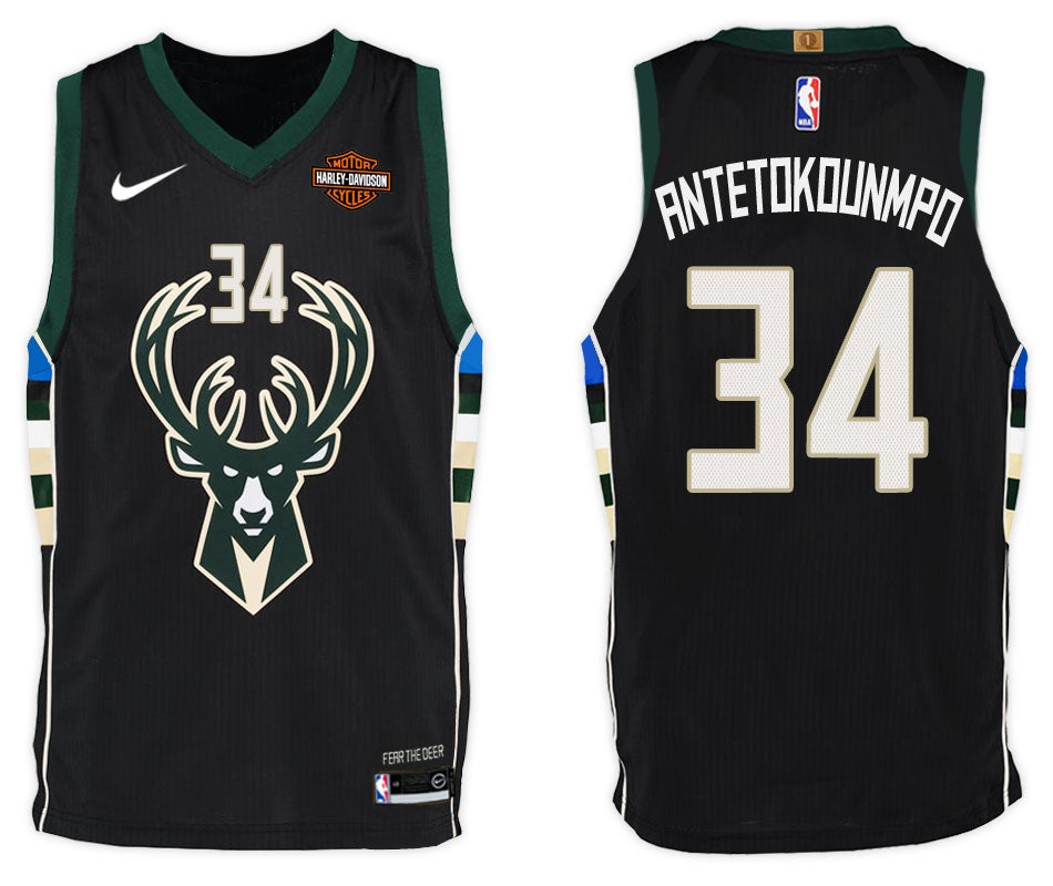 huge selection of c6f5a 7efd8 Men's Giannis Antetokounmpo Milwaukee Bucks Nike Swingman Jersey White -  Association Edition