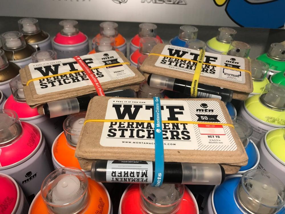 MTN WTF Eggshells Stickers