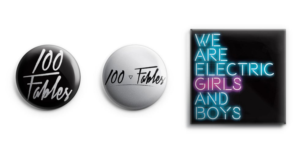 Image of 100 Fables Badges