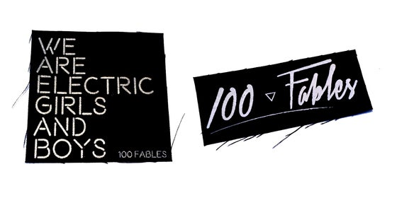 Image of 100 Fables Patches