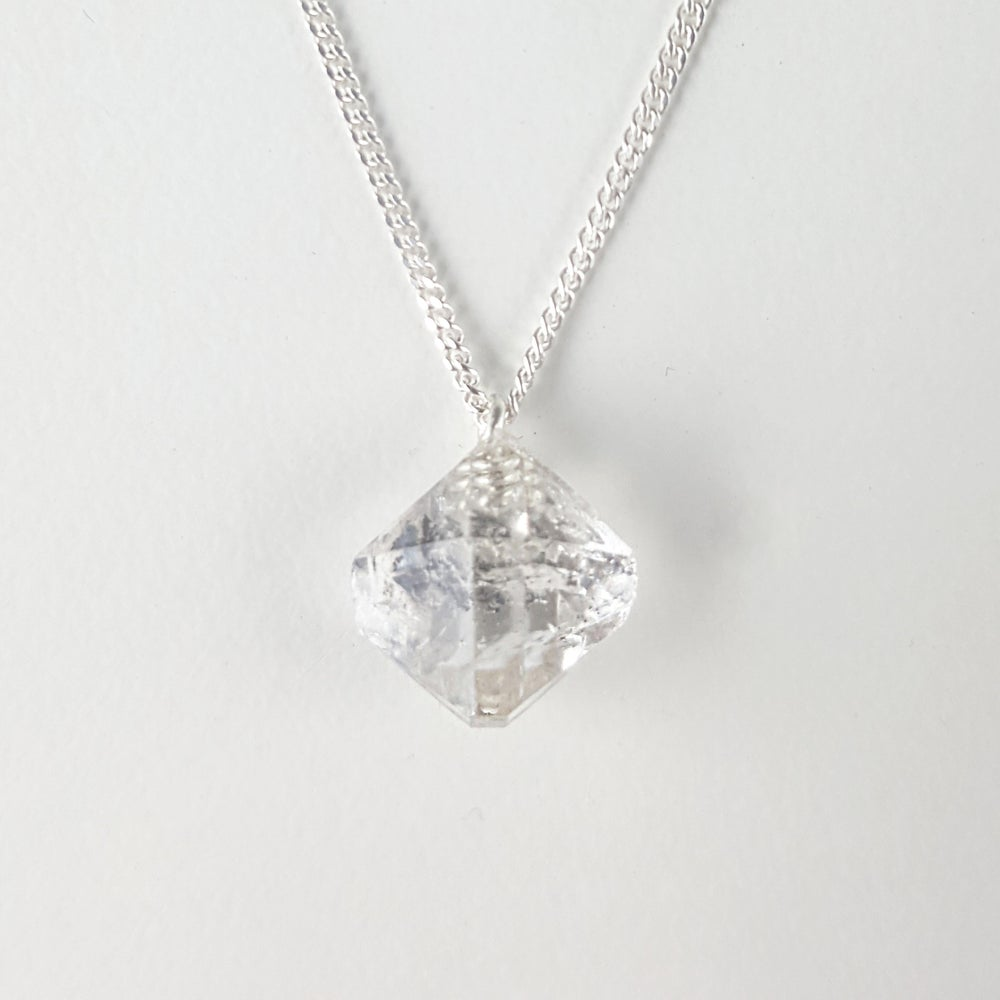 Image of Clarity Necklace on Sterling Silver