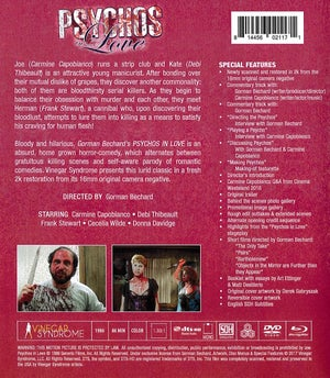 Image of Psychos in Love DELUXE BLURAY/DVD COMBO