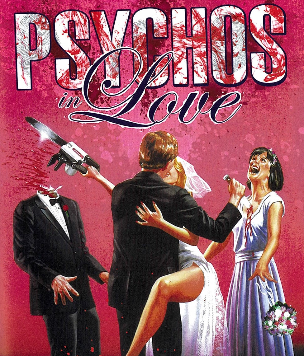 Image of Psychos in Love & Disconnected DELUXE BLURAYS both with Slipjacket - Both OOP