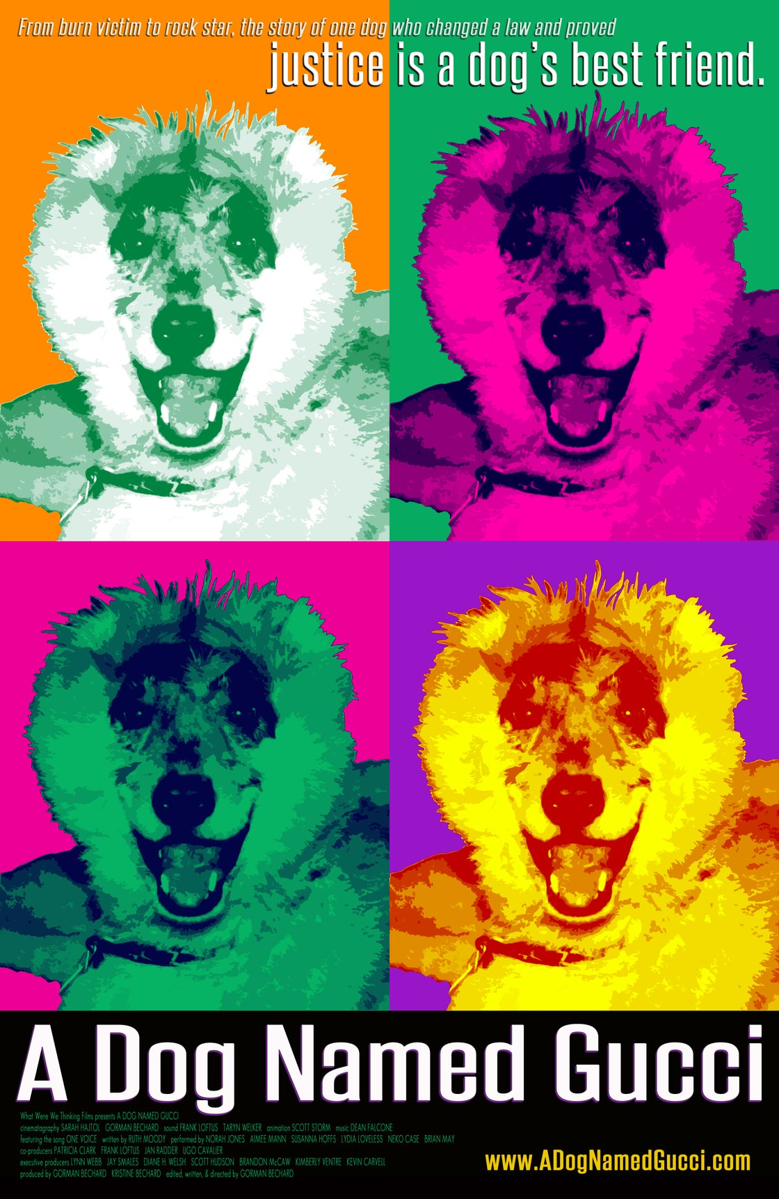 Image of A Dog Named Gucci poster