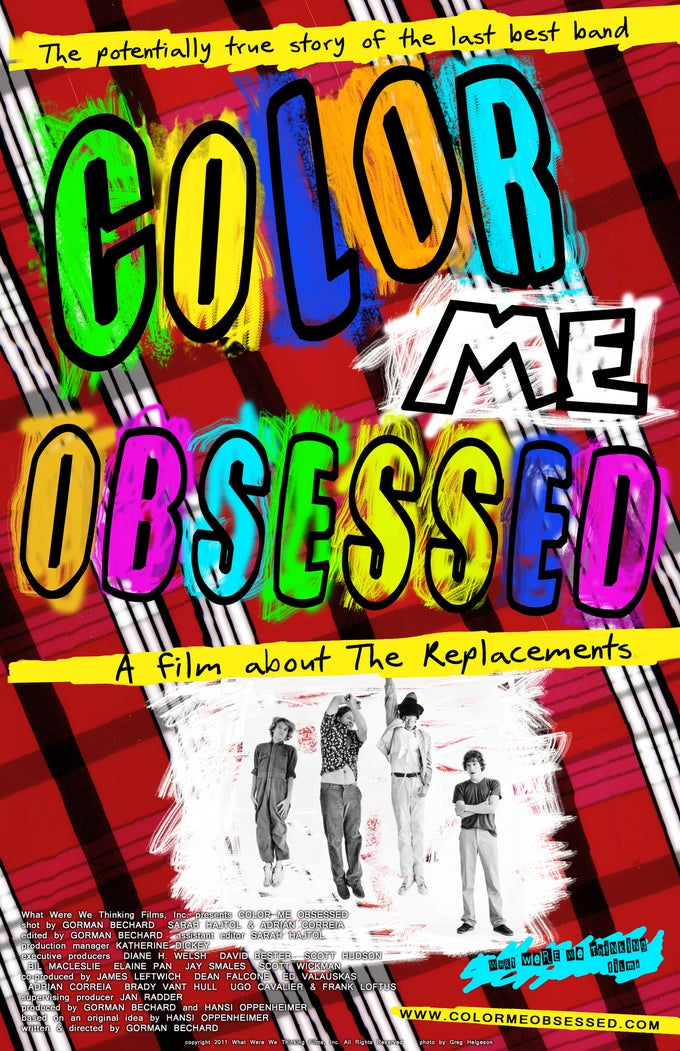 Image of Color Me Obsessed POSTER