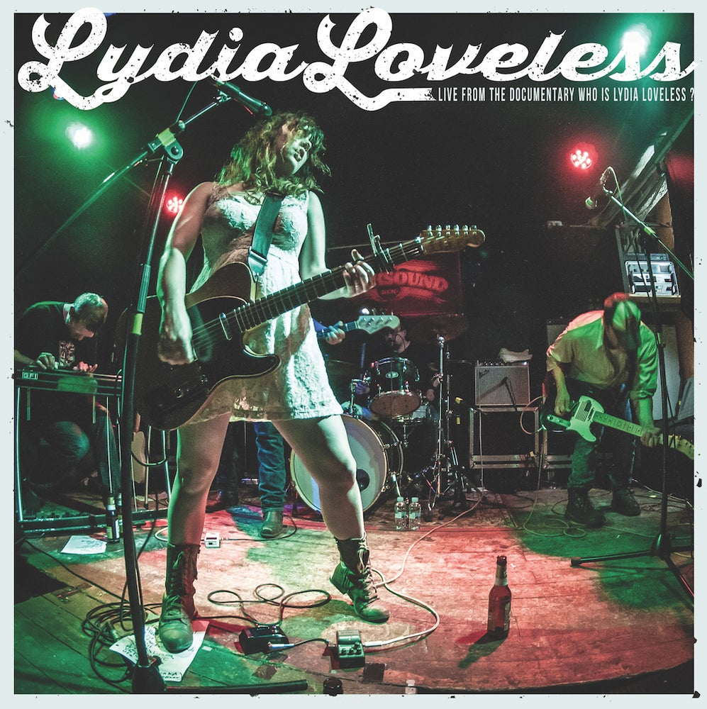 Image of Live from the Documentary Who Is Lydia Loveless? VINYL EP with DVD